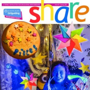 Cover of issue 45 of share magazine
